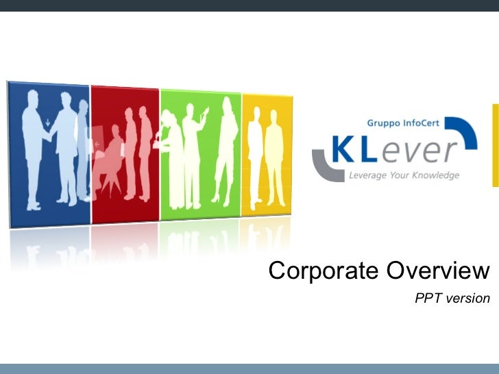 Corporate Overview PPT version