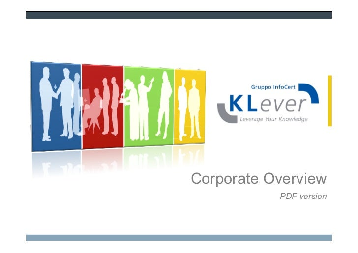 Corporate Overview           PDF version