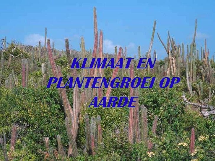 • Het klimaat is het gemiddelde patroon van het weer en        van de temperatuur voor een lange periode.        • Het kli...