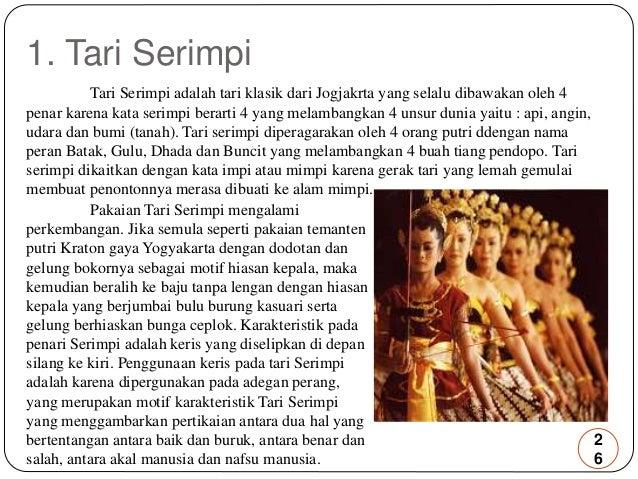 Tari Serimpi Yogyakarta Tari Serimpi Tari Serimpi