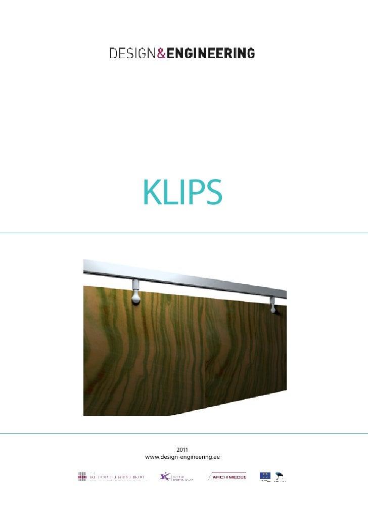 KLIPS          2011www.design-engineering.ee