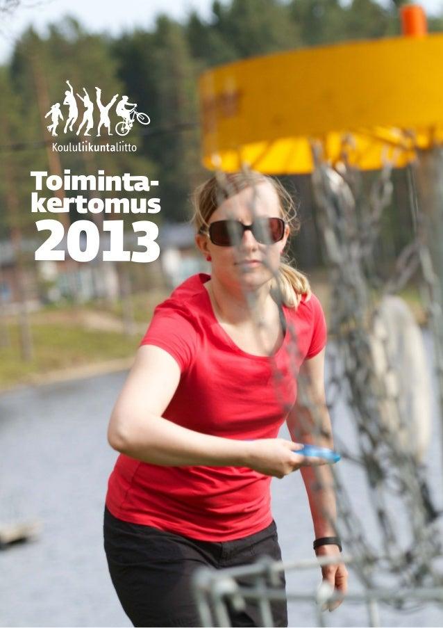 Kll toimintakertomus 2013 valmis