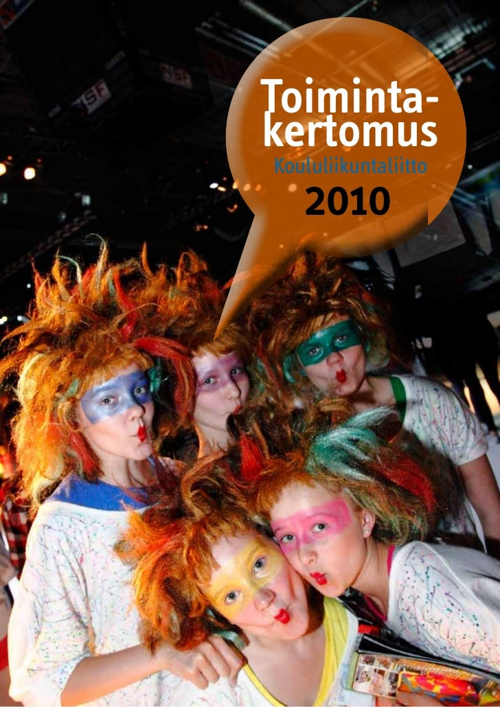 Toiminta-kertomus Koululiikuntaliitto    2010