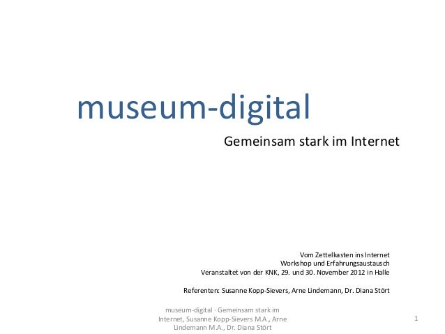 museum-digital                        Gemeinsam stark im Internet                                                 Vom Zett...