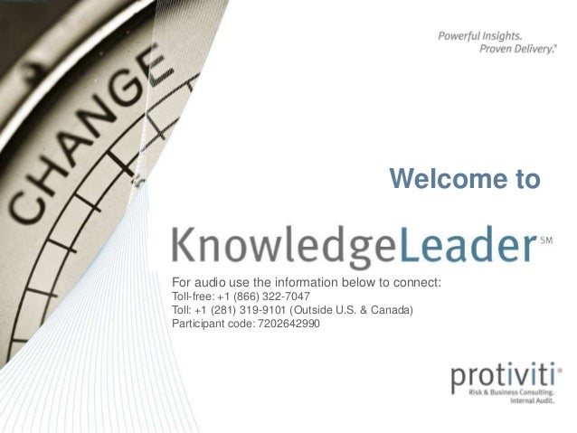 KnowledgeLeader Subscriber Webinar