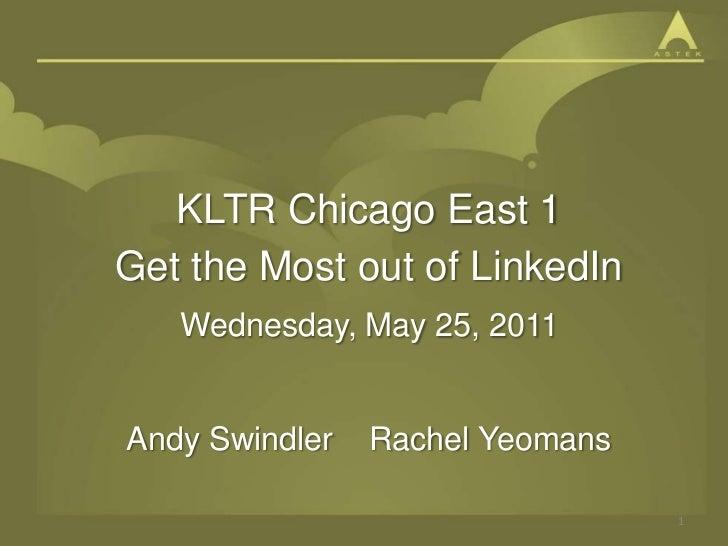 Get Started on LinkedIn: 15 Minutes Per Week