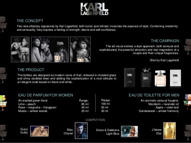Karl Lagerfeld - Fragrance Summary