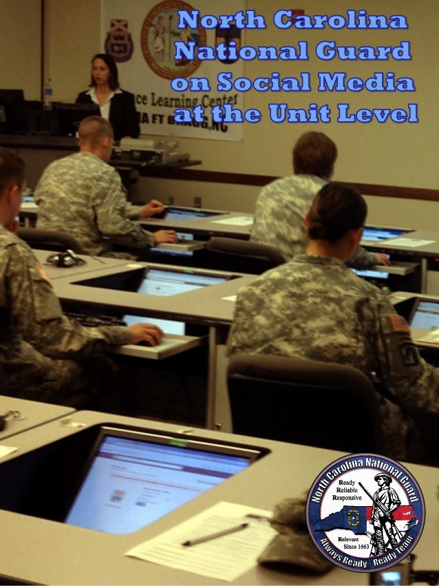 NCNG on Social Media at the Unit Level