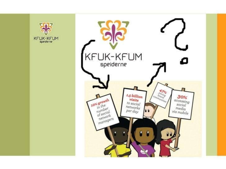 KFUK-KFUM-speiderne i sosiale medier_power point
