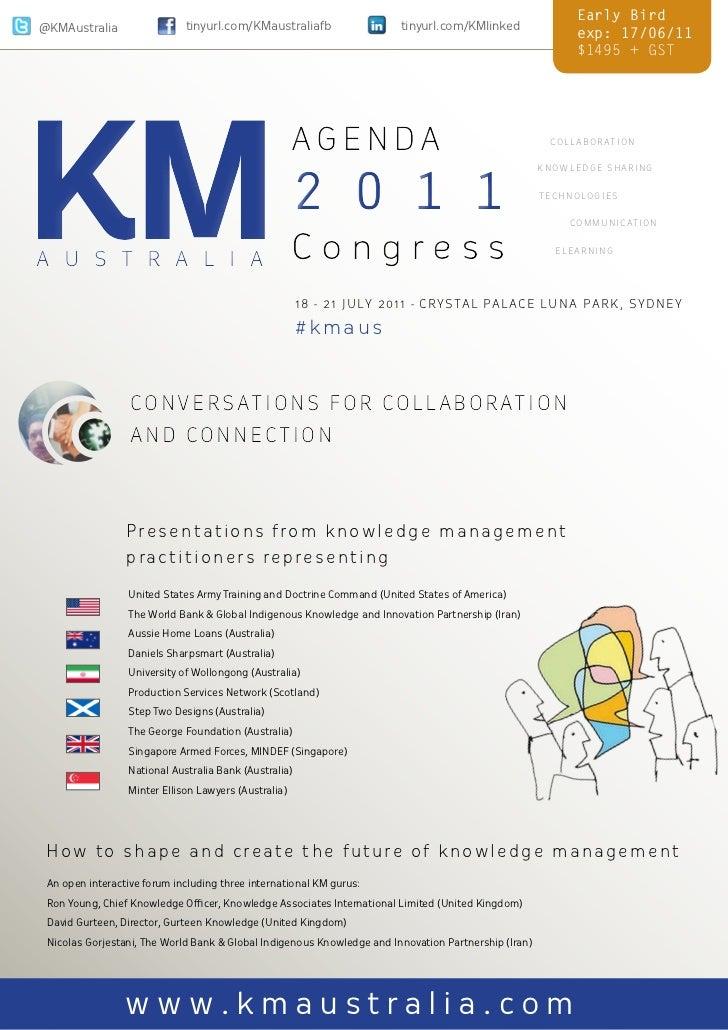 KM Australia Asia Pacific Congress