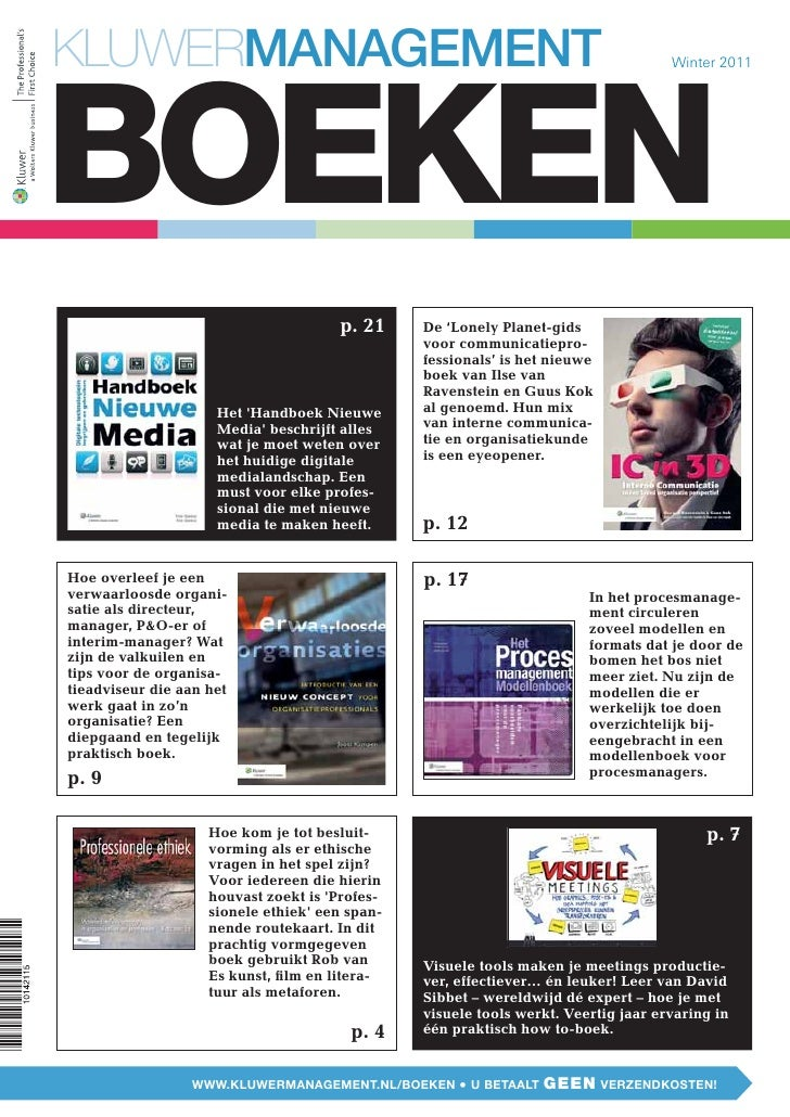 Kluwer Boekenspecial winter 2011