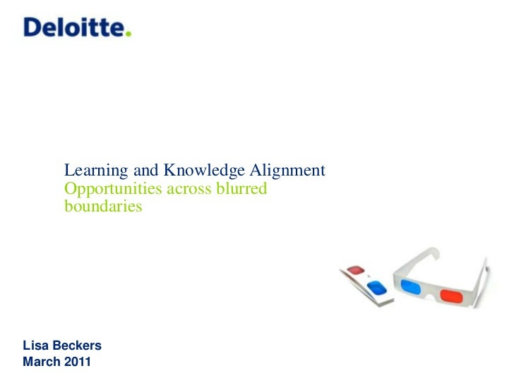 Learning and Knowledge Alignment