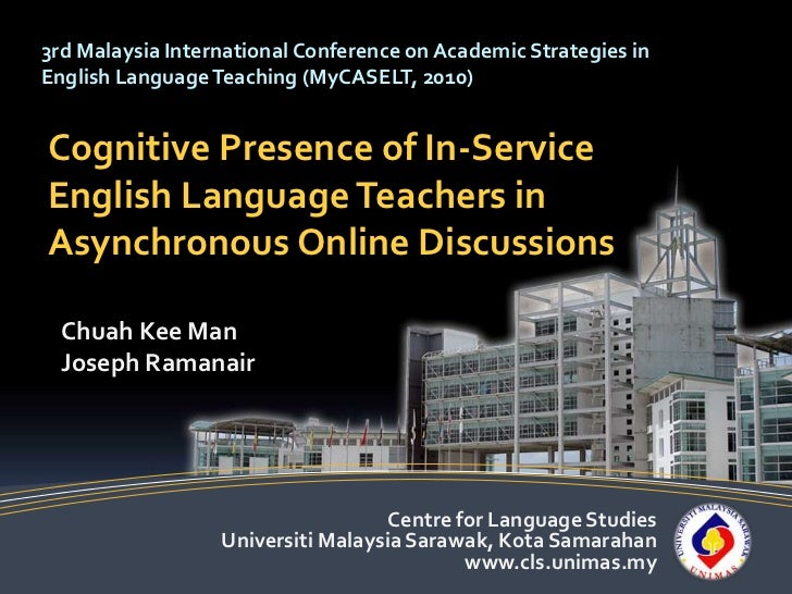 Cognitive Presence of In-Service  English Language Teachers in Asynchronous Online Discussions