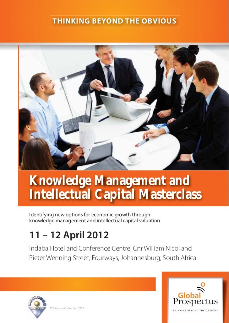 Knowledge Management and Intellectual Capital