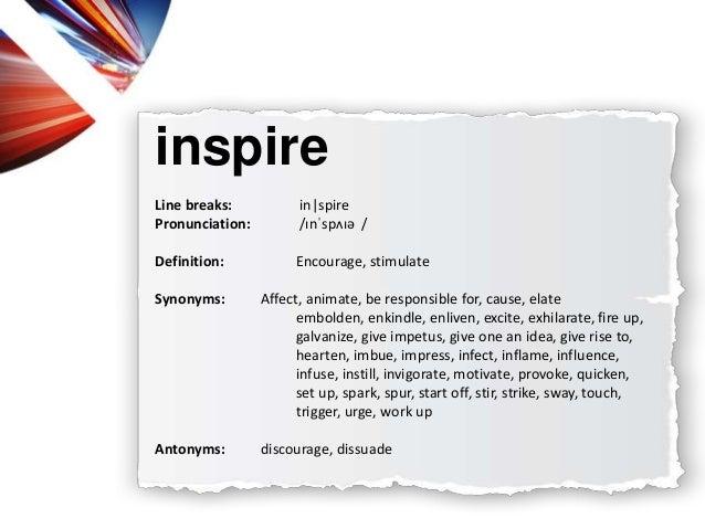 Get Inspiration Synonym