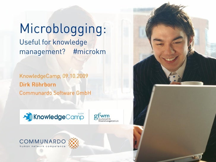 Knowledge Management and Microblogging?