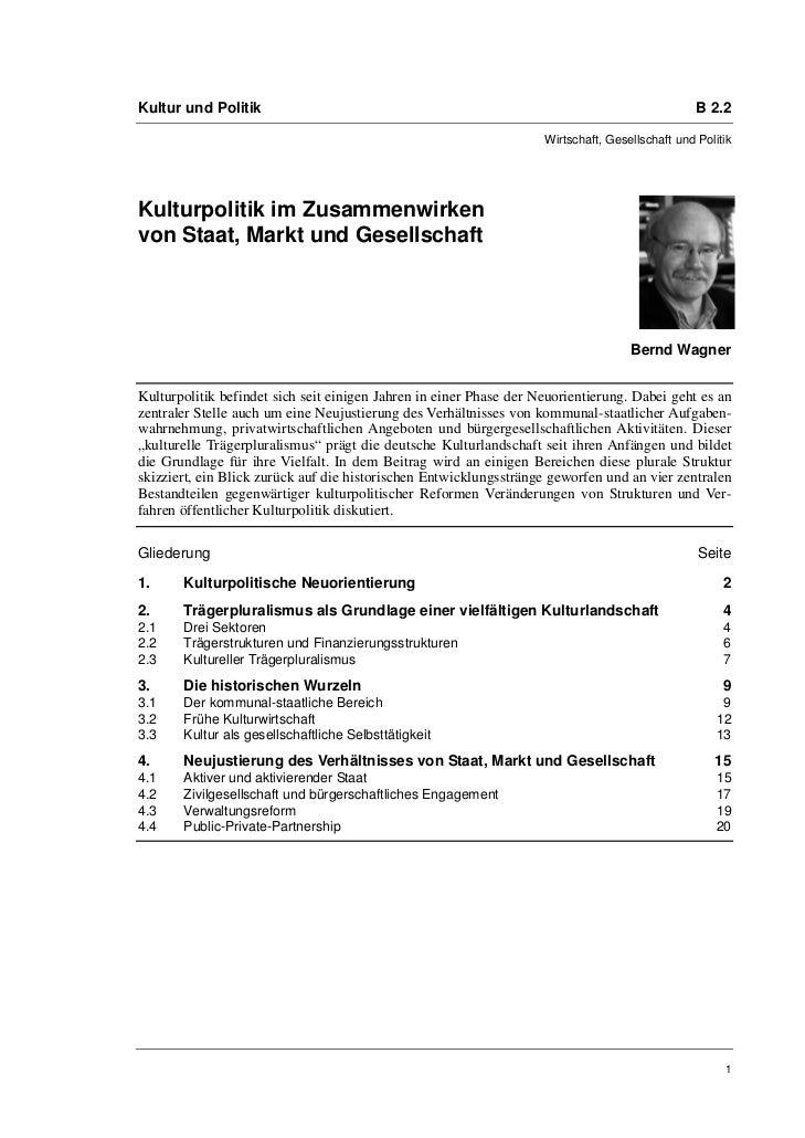 Kultur und Politik                                                                               B 2.2                    ...