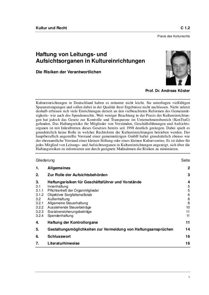 Kultur und Recht                                                                              C 1.2                       ...
