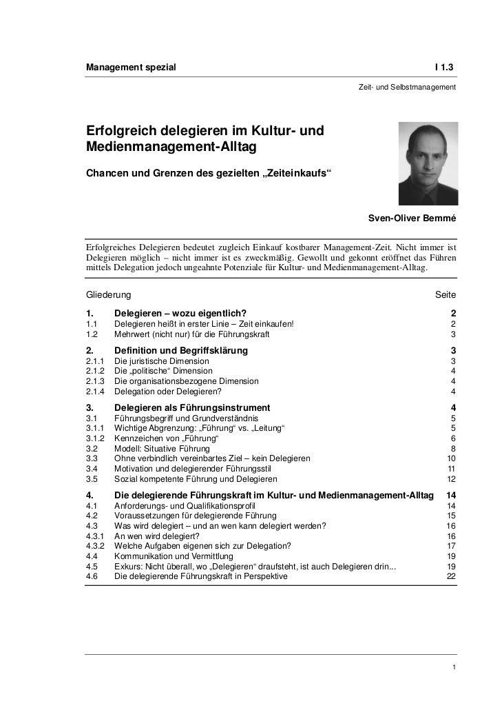 Management spezial                                                                             I 1.3                      ...