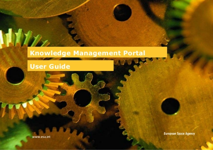 Knowledge Management Portal User Guide