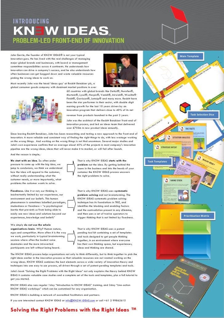 KN3W Ideas Introduction
