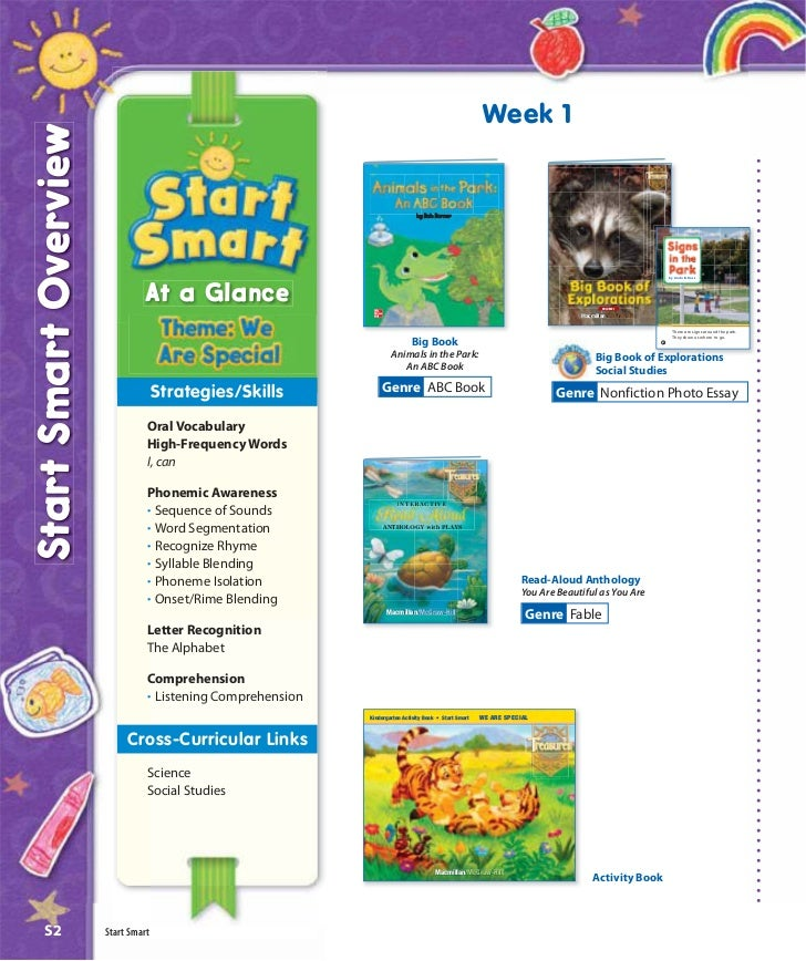 Week 1Start Smart Overview                                                                               by Bob Barner    ...