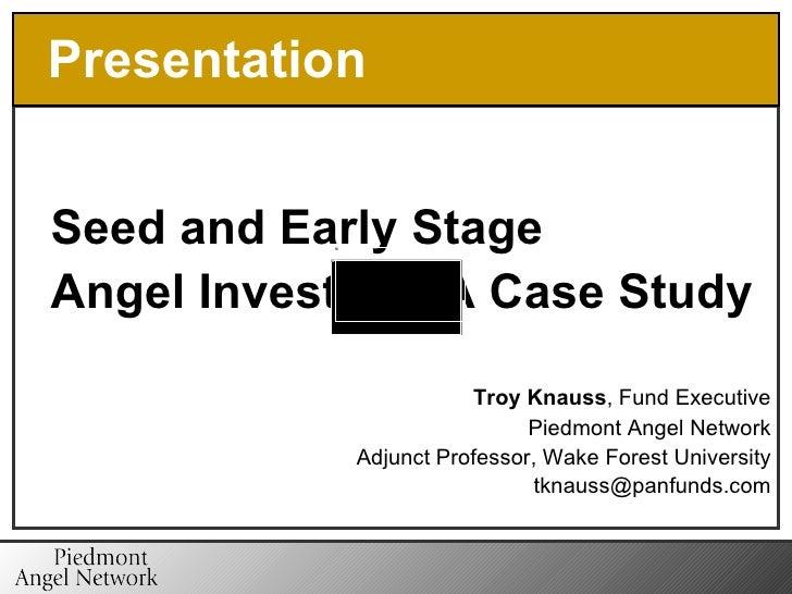 Knauss  Angel Investing