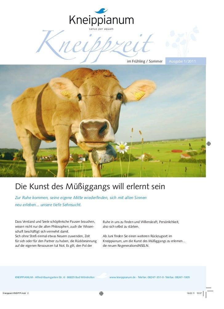Kneippianum Broschüre