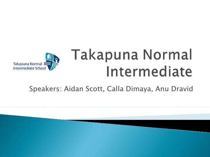 Speakers: Aidan Scott, Calla Dimaya, Anu Dravid