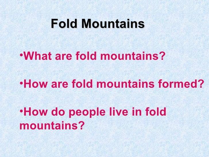 Kn fold mountains