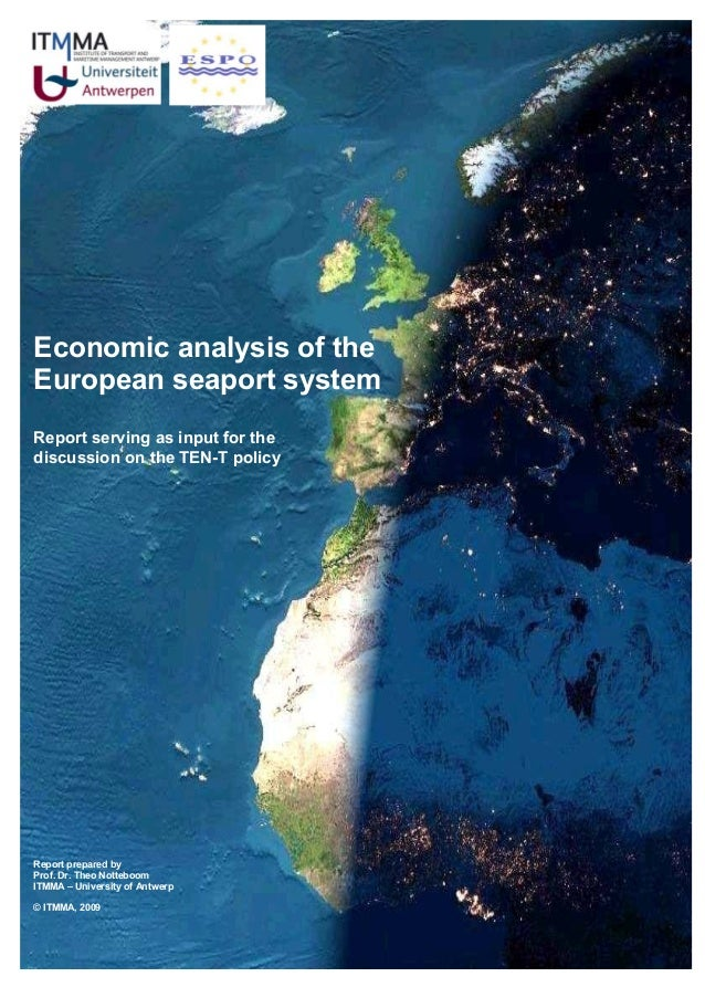Economic analysis of the  European seaport system 2