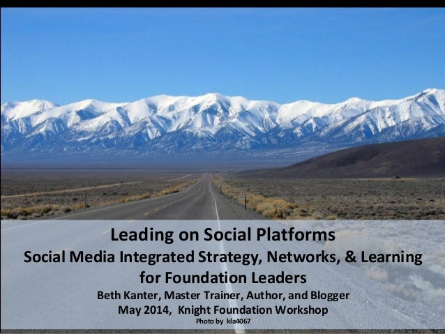 Leading on Social Platforms