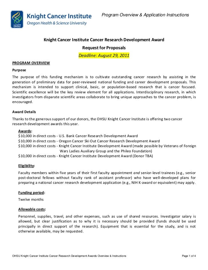 Knight funding opportunities announcement 2011