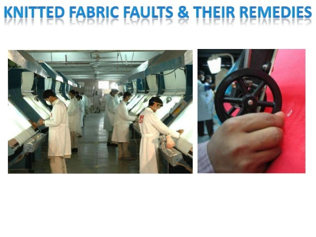 Knitted fabric faults and their remedies