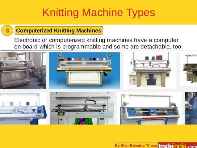 Knitting Machine Programmable : Knitting machines buying guide for suppliers