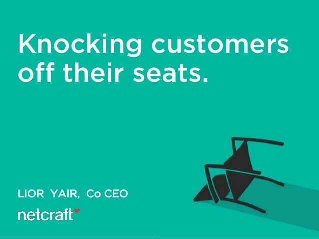 LIOR YAIR, Co CEO Knocking customers off their seats.
