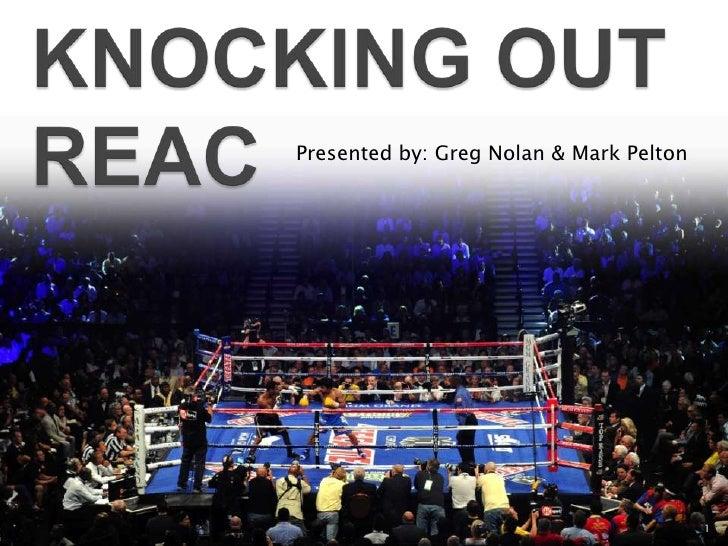 Presented by: Greg Nolan & Mark Pelton                                         1
