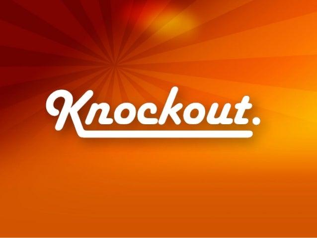 Knockout JS - Uma framework para aplicações web