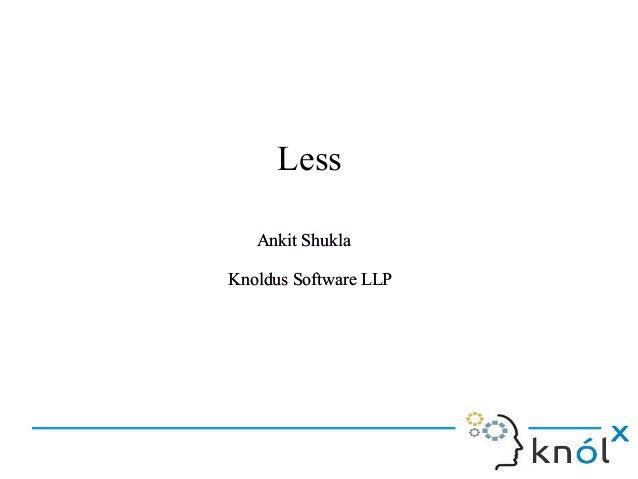 Ankit Shukla Knoldus Software LLP Ankit Shukla Knoldus Software LLP Less