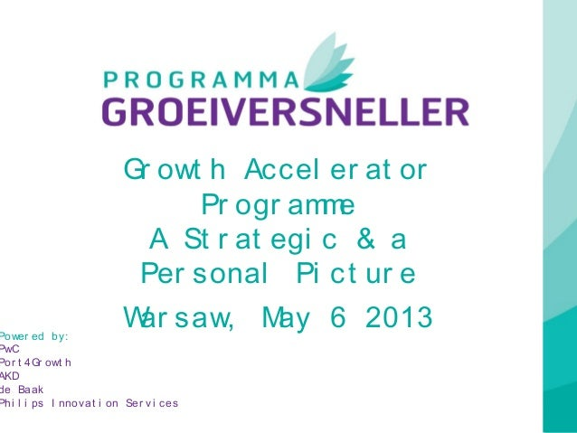 Growth Accelerator Programme_Programma Groeiversneller