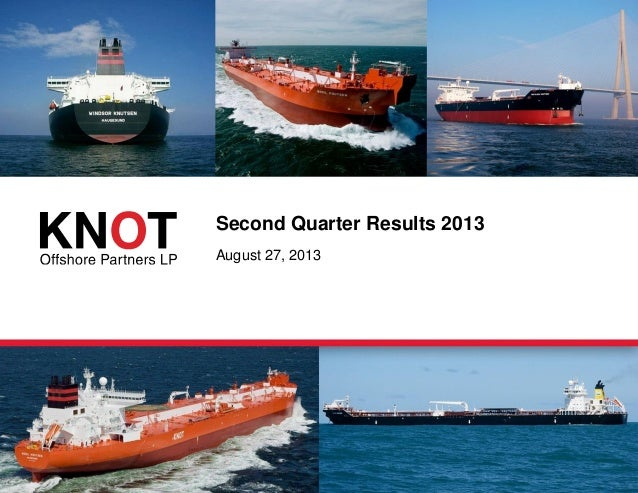 KNOT Offshore Partners Q2 2013 results presentation