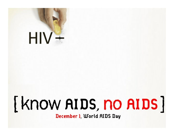 Know Aids No Aids