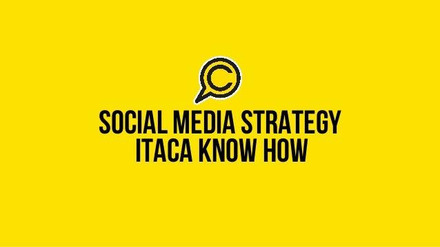 social media strategyitaca know how