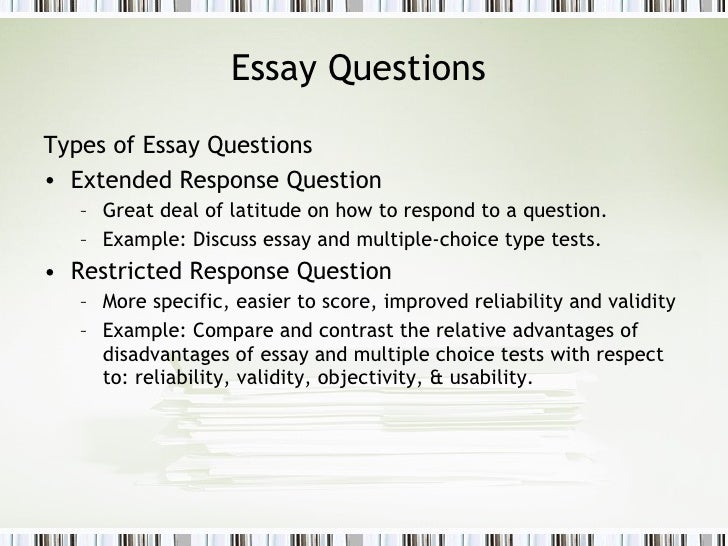 Post essay instructions