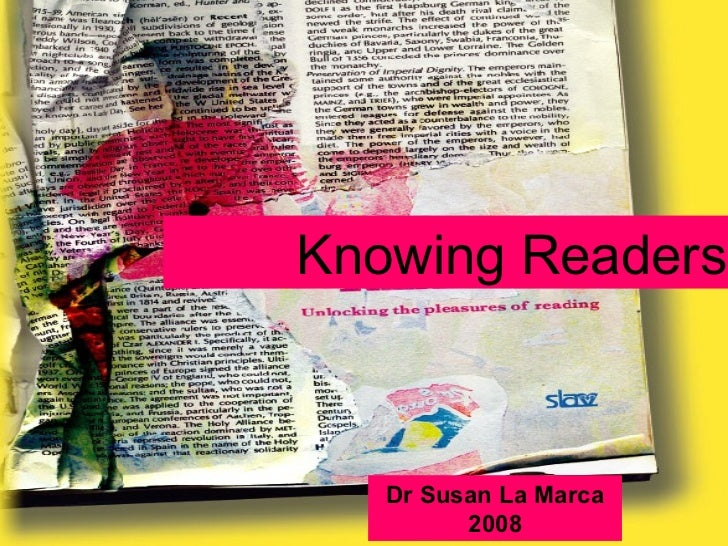 Knowing Readers