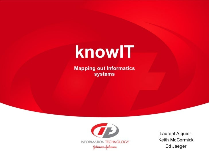 KnowIT, semantic informatics knowledge base