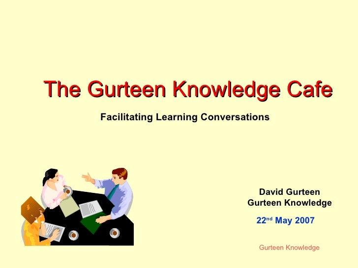Knowledge Cafe Workshop
