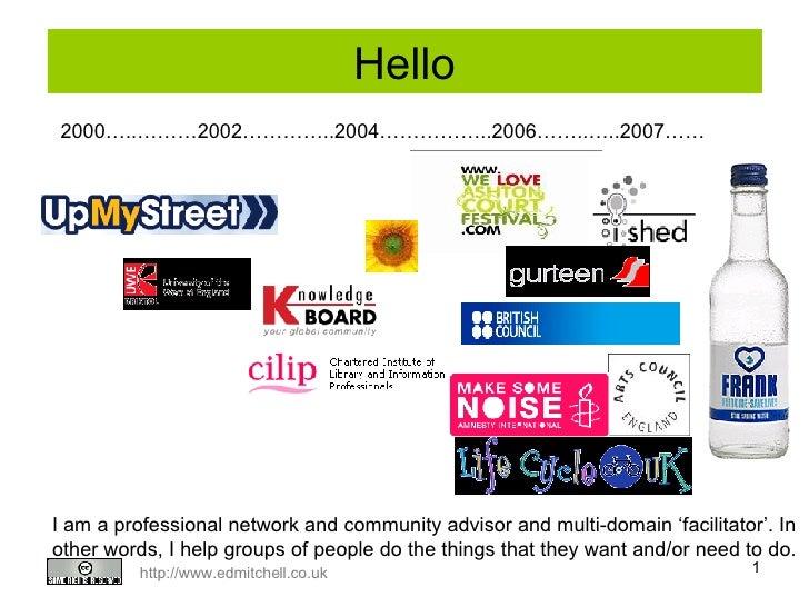 Knowledge Networks presentation for NCVO