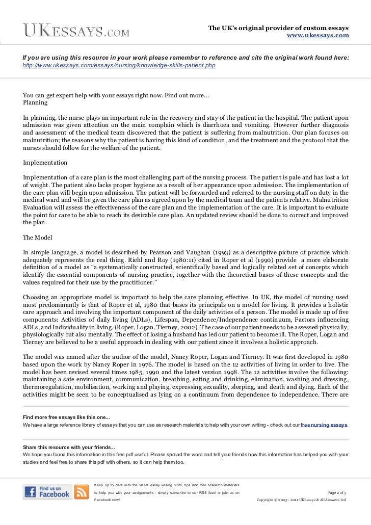 essays on social service