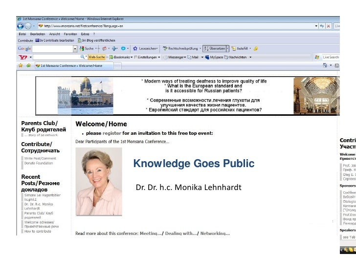 Knowledge Goes Public